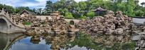 避暑山庄中国园林奇石