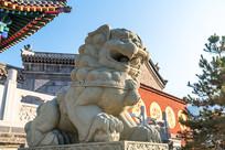 中国古时候的石狮子