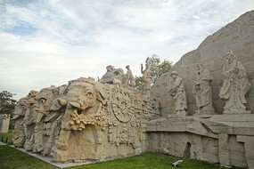 北京大都建典大型群雕