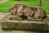 十二生肖虎石雕雕塑