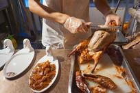 北京美食-片烤鸭