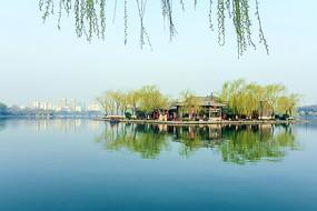 大明湖历下亭