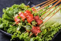牛肉卷香菜签