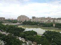 晋江江滨公园风光