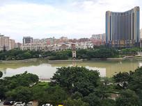 晋江江滨公园景色