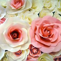 玫瑰花鲜花墙