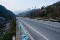 巫山县楚阳乡乡村公路柏油路面