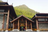 荔波小七孔游客中心传统建筑