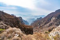 白石山景区的群山