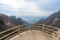 白石山景区观景台