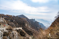 白石山景区山峰