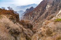 白石山群山风景