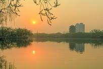 波光粼粼大明湖