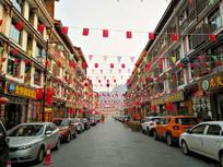 贵州黔南小七孔美食街
