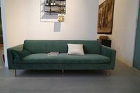 绿色布艺沙发