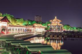 大明湖海底世界夜景