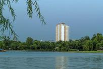 济南大明湖一隅