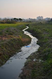 透视风景-溪水潺潺