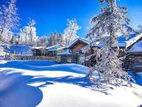 雪乡森林木屋