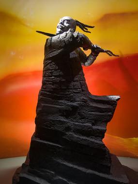 重庆中国三峡博物馆巴蔓子塑像
