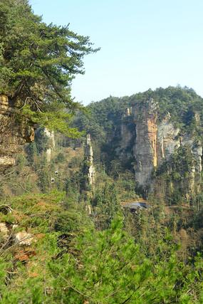 张家界森林公园乌龙寨绝壁 JPG