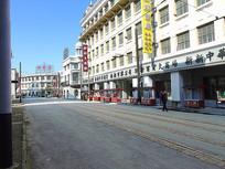 上海影视城沿街商业街