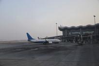 机场飞机拍摄