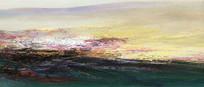 意境山水抽象画