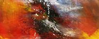 涂鸦手绘抽象画