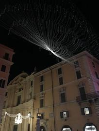 罗马住宅夜景