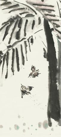 国画花鸟装饰画