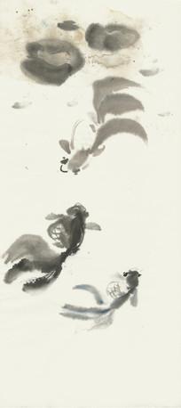 金鱼装饰画