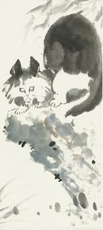 猫咪装饰画