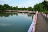 义乌湿地公园休闲桥