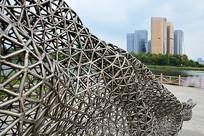 城市现代雕塑