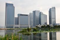 福田湿地公园金融区
