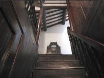 室内木楼梯