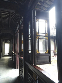 云浦草堂窗