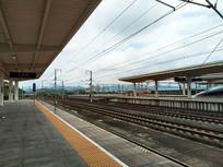 动车车站站台