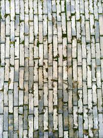 中式砖墙背景