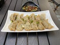 东北水饺摄影