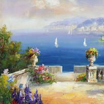 地中海装饰画