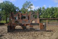 砖砌艺术墙
