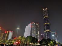 广州花城广场夜景