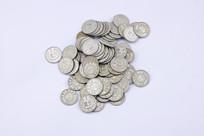 一堆老硬币
