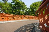 成都世纪城东路步行桥