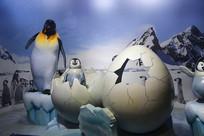 企鹅世界雕塑