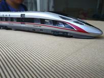 高铁模型拍摄图