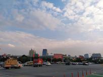 远眺义乌国际商贸城