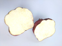 红皮红薯白心